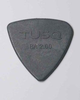 Bi-Angle Bass Pick Tusq 2.00Mm Grey (Pack X 4)
