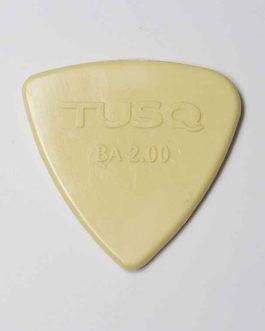 Bi-Angle Bass Pick Tusq 2.00Mm Vintage (Pack X 4)
