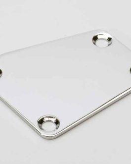 Neck Plate Cut Chrome