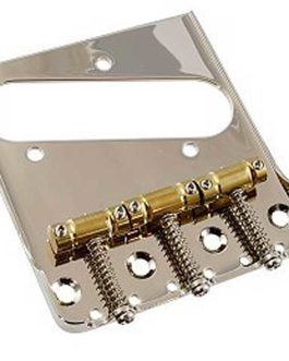 Gotoh Compensated Tele Bridge Adapted For Bigsby Use