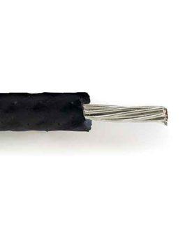 Fil Cablage Vintage Silicone Black Style Strat 36Cm
