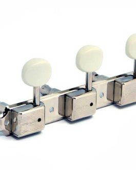 GOTOH KLUSON STYLE 3 ON PLATE NICKEL 1:15 WHITE BUTTONS