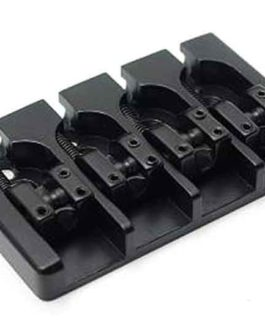 Hipshot A Bass Bridge4 (17Mm) Alu Black