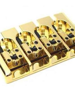 Hipshot A Bass Bridge4 (17Mm) Brass Gold