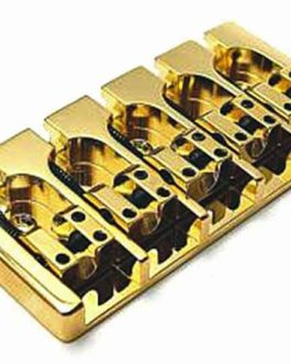 Hipshot A Bass Bridge5 (18Mm) Brass Gold