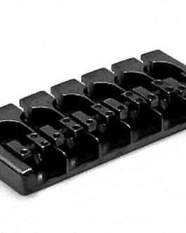 Hipshot A Bass Bridge6 (18Mm) Alu Black