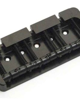 Hipshot B Bass Bridge 6 Alu Black 19Mm Pitch