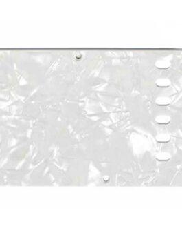 Tremolo Plate White Pearloid 4-Ply .100 E-E 56Mm