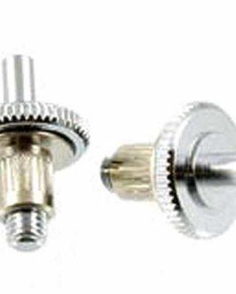 Stud/Wheel/Anchor Chrome (2)
