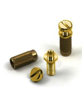 TONEPROS LOCKING STUDS SMALL CAPS INCH GOLD + TOOL
