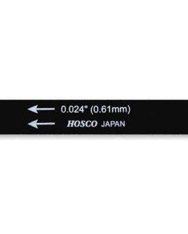 HOSCO BLACK NUT FILE .024″ / LIME A SILLET.024″ (FOR H-NF-H)