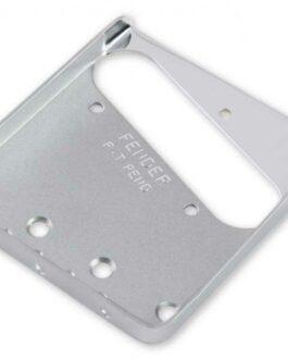 FENDER® AMERICAN VINTAGE 3-SADDLE TELECASTER® BRIDGE PLATE CHROME