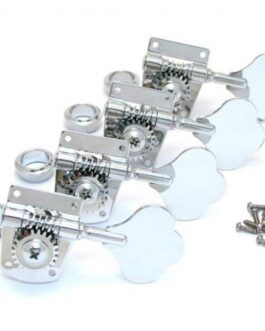 FENDER® STANDARD-HIGHWAY ONEル SERIES BASS TUNING MACHINES CHROME (4)