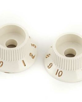 FENDER® STRATOCASTER® S-1ル SWITCH KNOBS, PARCHMENT (2P)
